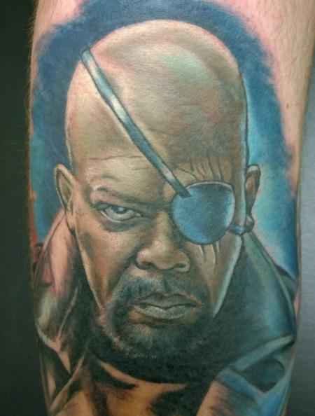 Tattoos - Nick Fury Portrait - 111569
