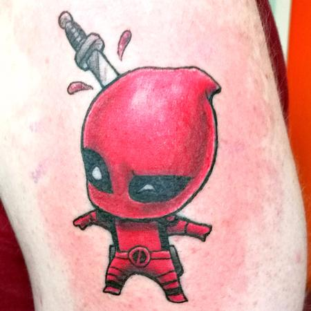 Sebastian Williams - Deadpool Tattoo