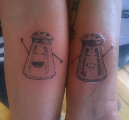 Tattoos - Sisters Best Friends Matching Tattoos  - 112260