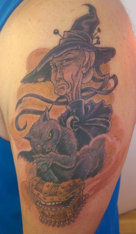 Tattoos - Terry Pratchett Discworld Tattoo - 120079
