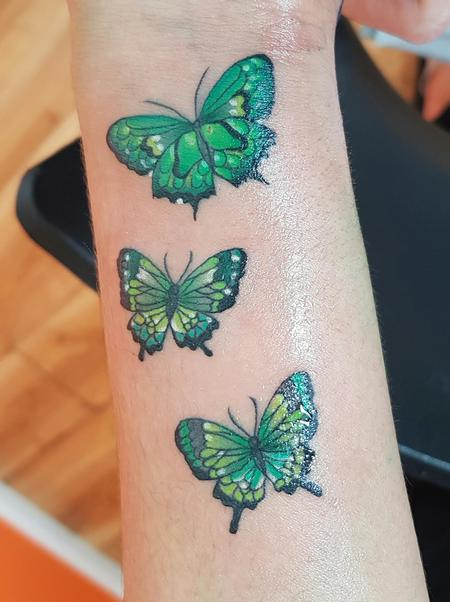Tattoos - Small Butterfly's - 125044