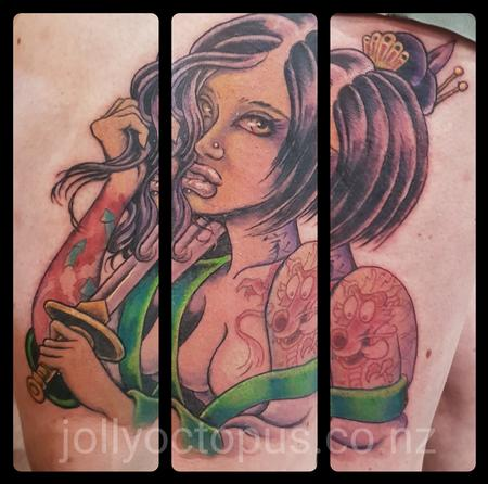 Tattoos - Mulan Pinup Tattoo - 126413