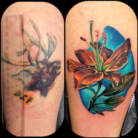 Tattoos - Cover-up - 86265