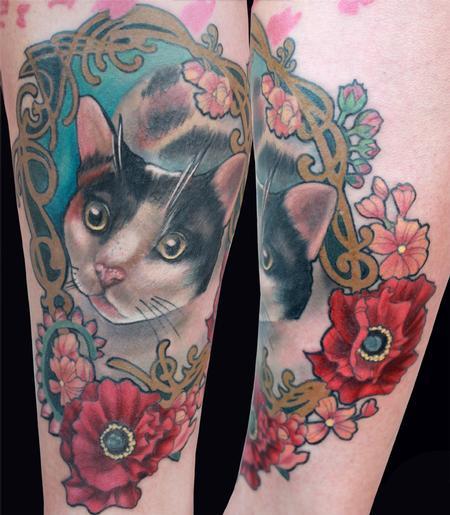 Tattoos - Cat tattoo - 89388