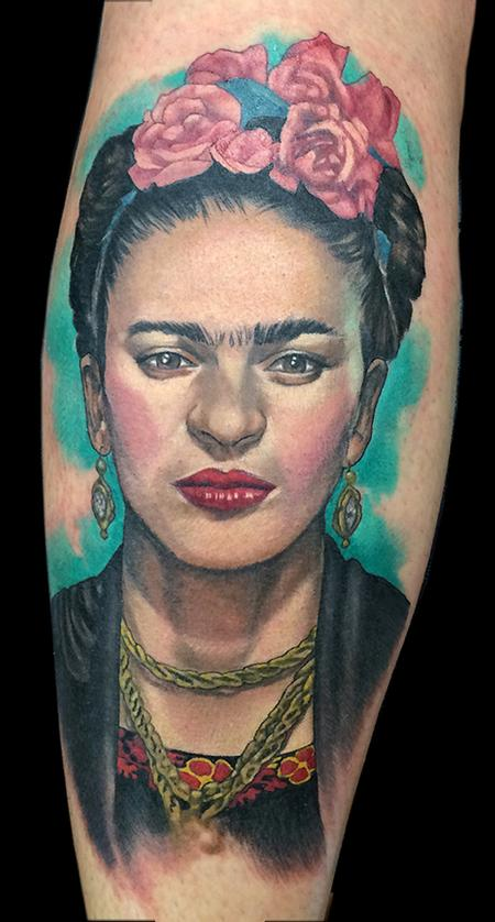 Tattoos - Frida tattoo - 125232