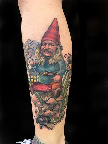 Tattoos - Garden Gnome  - 132577