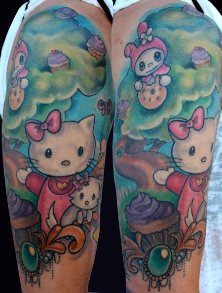 Tattoos - Hello Kitty tattoo - 89387