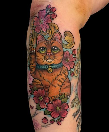 Tattoos - Lucky Cat - 132578