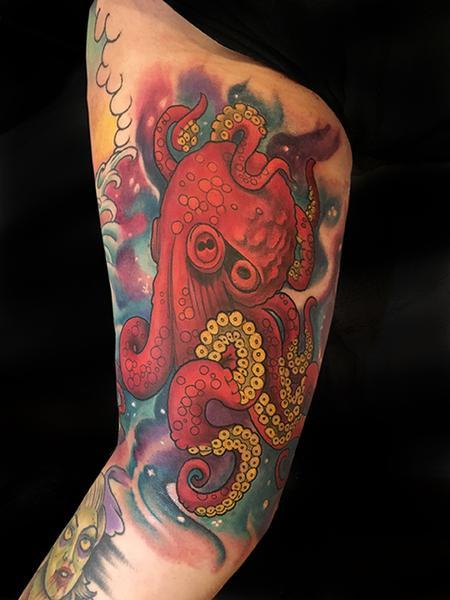 Tattoos - Octopus  - 132580