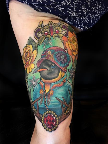 Tattoos - Elegant Penguin - 132581