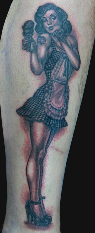 Tattoos - Pin up tattoo - 101925