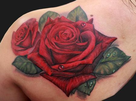 Tattoos - Rose tattoo - 102431