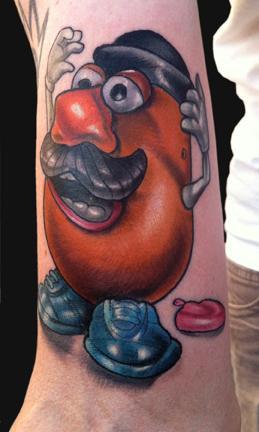 Tattoos - Mr. Potato Head tattoo - 68388
