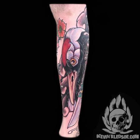Tattoos - Japanese Crane - 128289