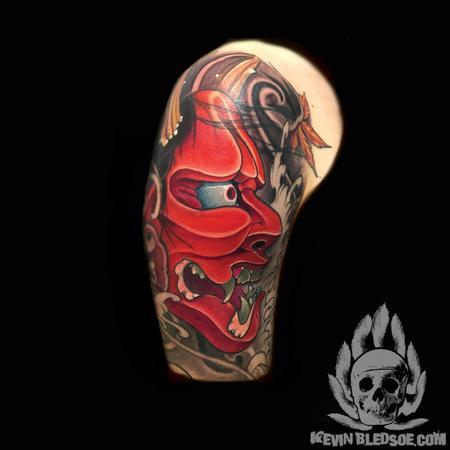 Tattoos - In progress Hannya - 124933
