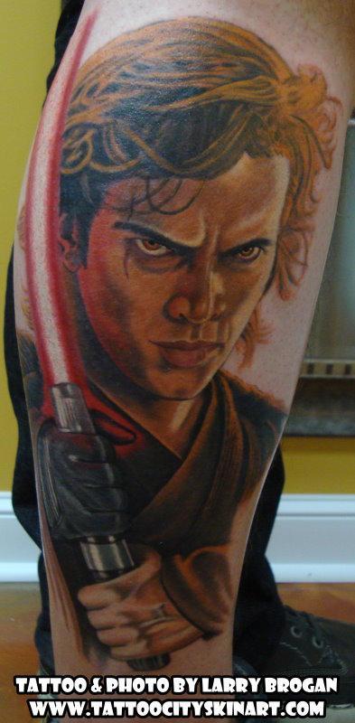Tattoos - Anakin Skywalker turning to the Dark Side - 89673