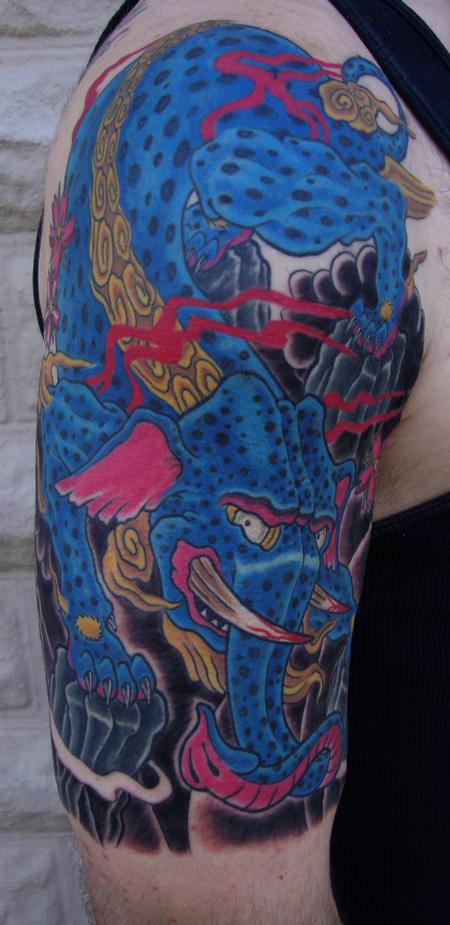 Tattoos - Baku The Devourer of Nightmares - 97675