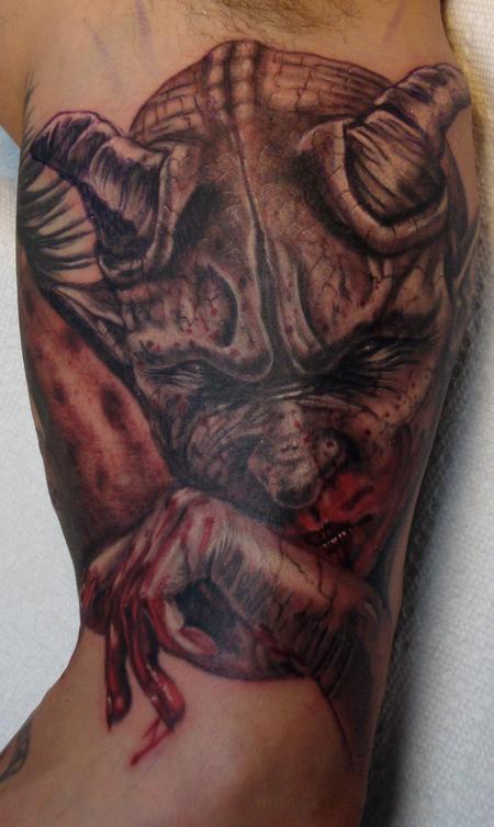 Tattoos - Bloody Demon Portrait - 95317