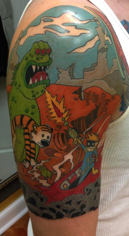 Tattoos - Calvin & Hobbs - 104005