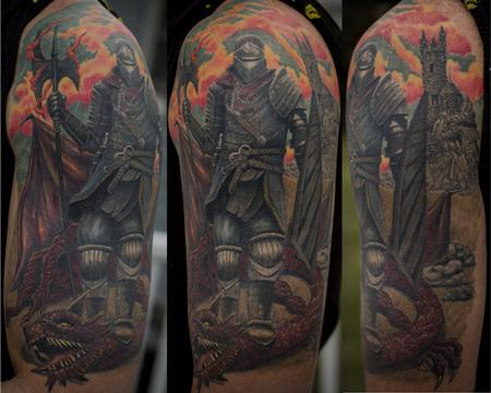 Tattoos - Dark Souls Knight - 100977
