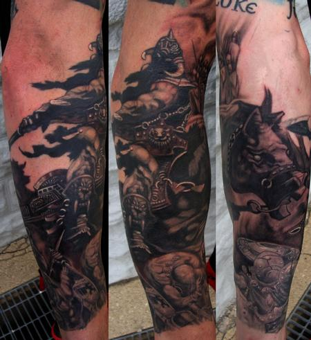 Tattoos - Death Dealer  - 107838