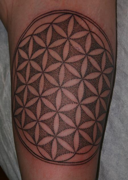 Tattoos - Flower of Life  - 122070