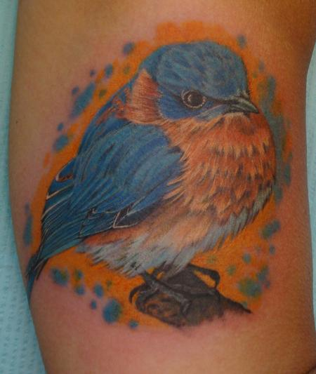 Tattoos - Eastern Bluebird - 93914