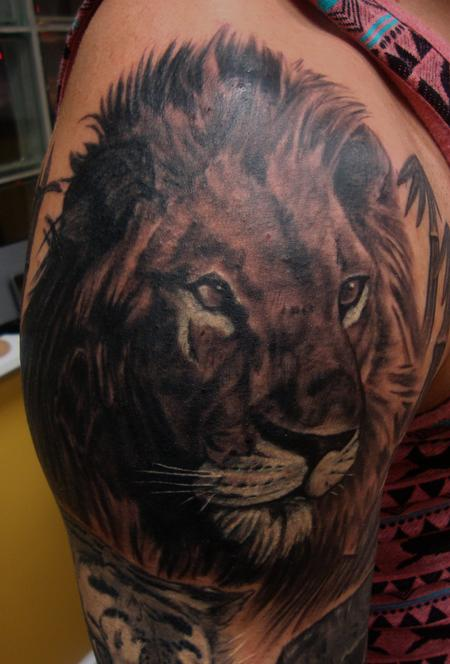 Tattoos - King of the Jungle Portrait - 103873