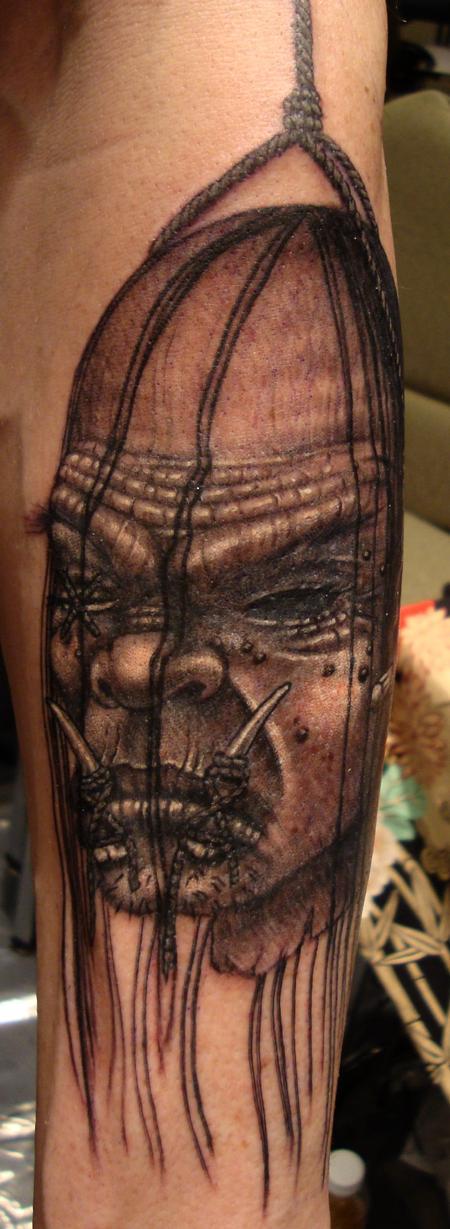 Tattoos - Shrunken Head - 96498