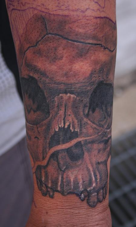 Tattoos - Skull Closeup - 122618