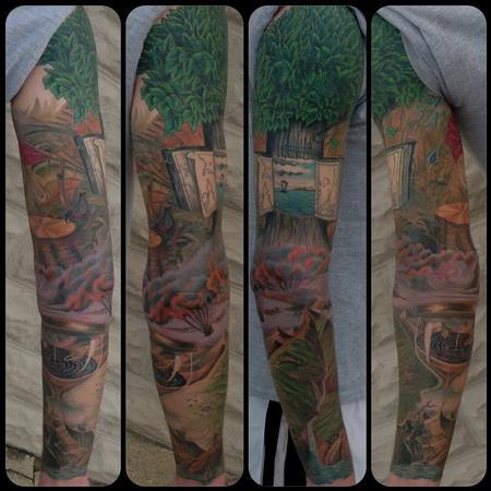 Tattoos - Vladmir Kush Inspired - 101423