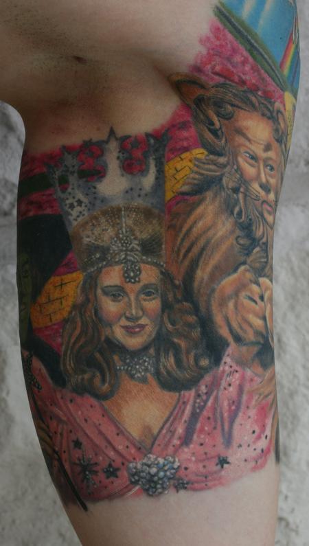 Tattoos - Glinda the Good- Wizard of Oz - 98026