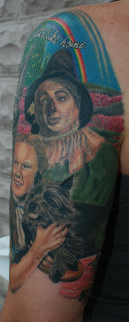 Tattoos - Scarecrow- Wizard of Oz - 98029