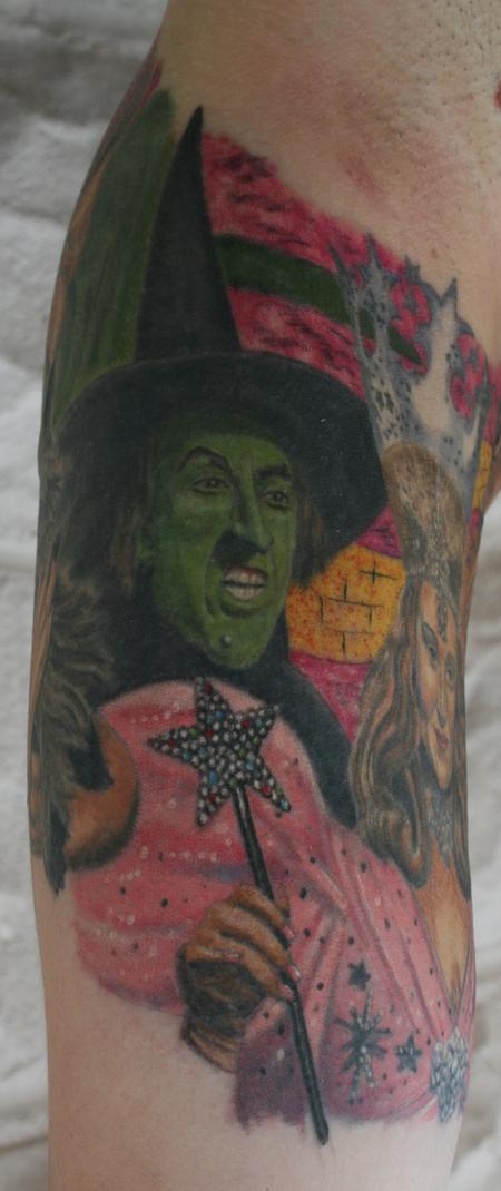 Tattoos - Wicked Witch- Wizard of Oz - 98025