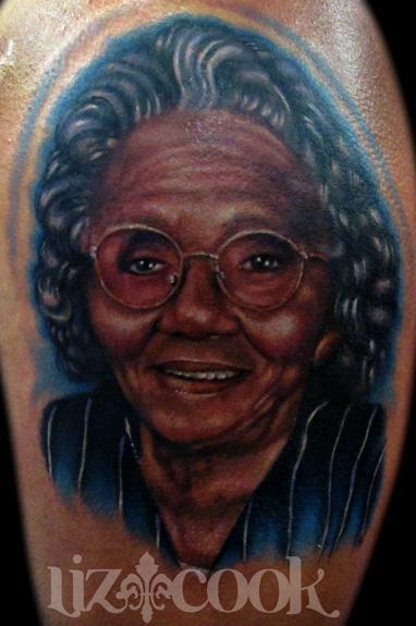 Tattoos - Portrait of Scoop's Grandma - 67245