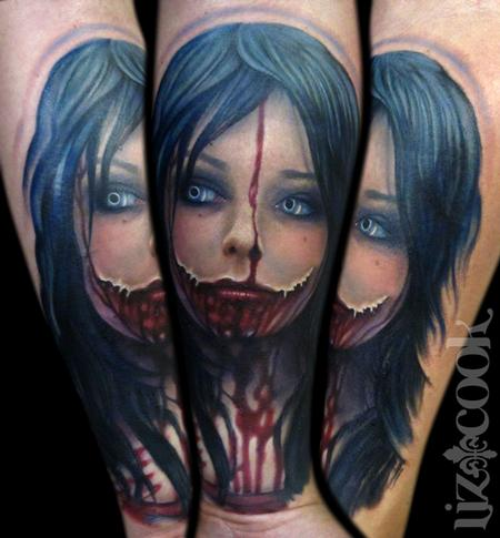Tattoos - Horror Chick - 67119