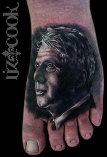 Tattoos - Robert Frost Portrait - 63554