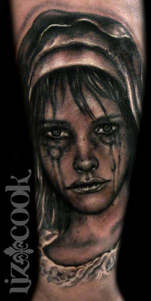 Tattoos - Crying Virgin Mary - 64035