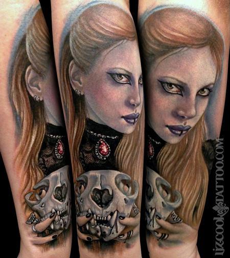 Tattoos - Creepy Cat Lady - 94313