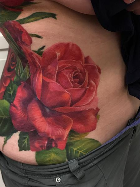 Tattoos - Bold Roses - 131254