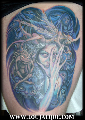 Tattoos - A page from the Book of Fairies - 16880