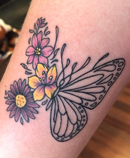 Tattoos - Butterfly - 142039