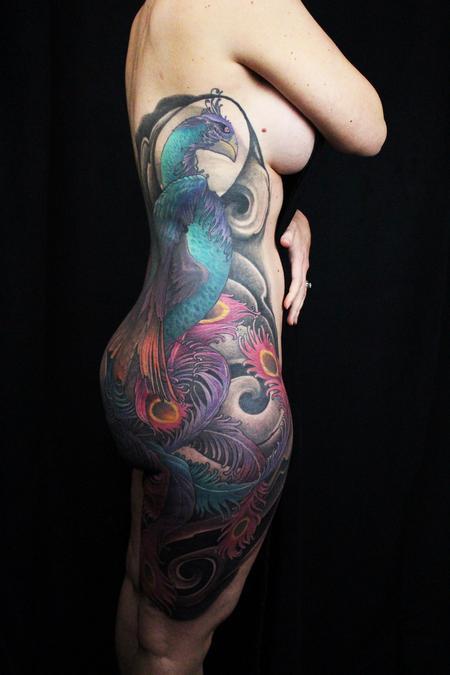 Jared Preslar - Hou-ou The Phoenix Tattoo