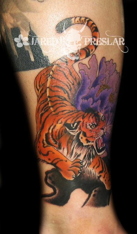 Tattoos - Japanese Tiger - 64357