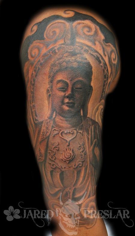 Jared Preslar - Thai Buddha Tattoo