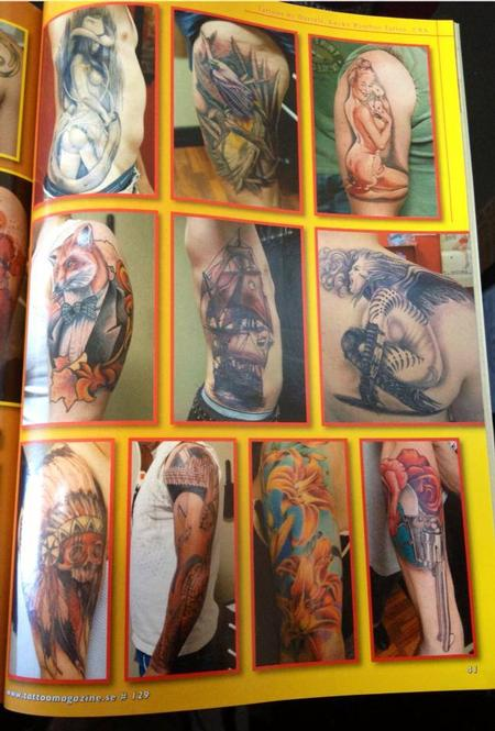 - Scandinavian Tattoo Magazine Feature Page 4