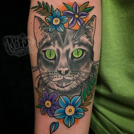 Tattoos - Kitty Portrait  - 137536