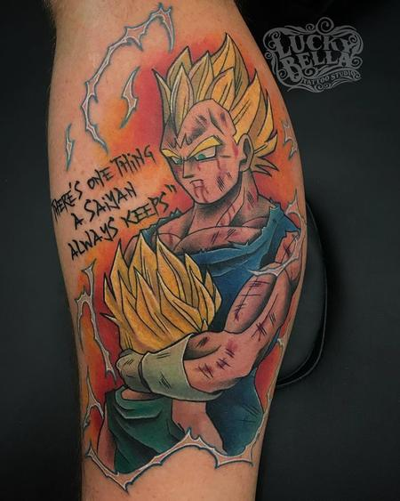 Tattoos - Dragon Ball Z - Vageta and Son  - 138204