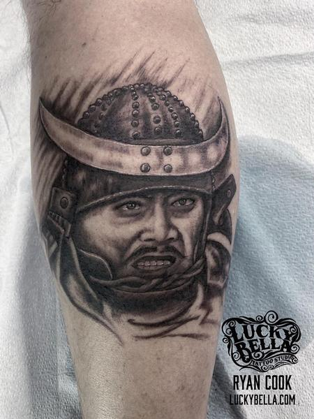 Tattoos - Throne of Blood Portrait by Ryan Cook at Lucky Bella Tattoos  - 140558
