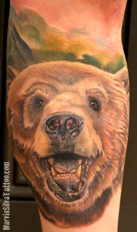 Tattoos - Grizzly Bear Tattoo - 86391